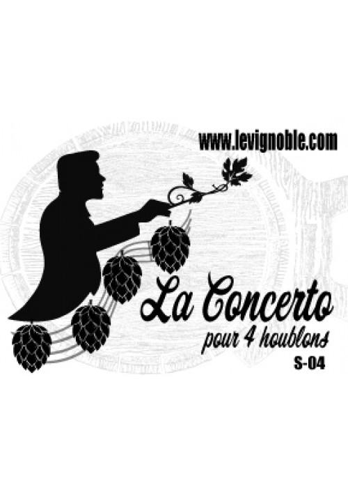 Bière LeVignoble Concerto pour 4 Houblons
