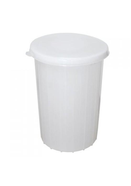 Chaudière plastique 8 gallons avec couvercle