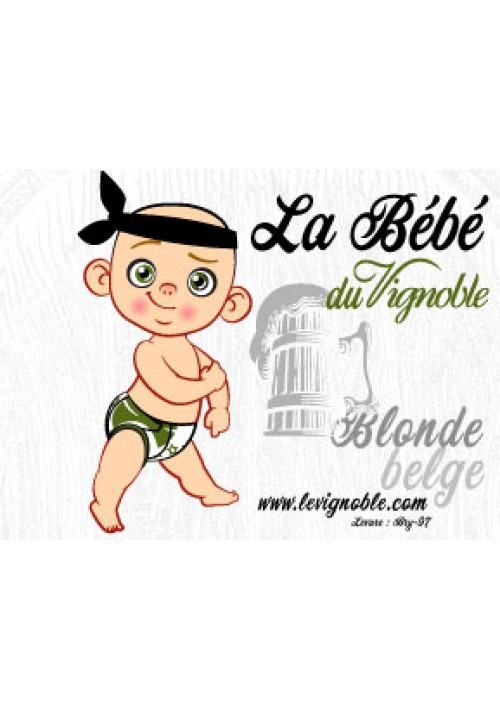 """Bière LeVignoble Blonde Belge """"La BB"""""""