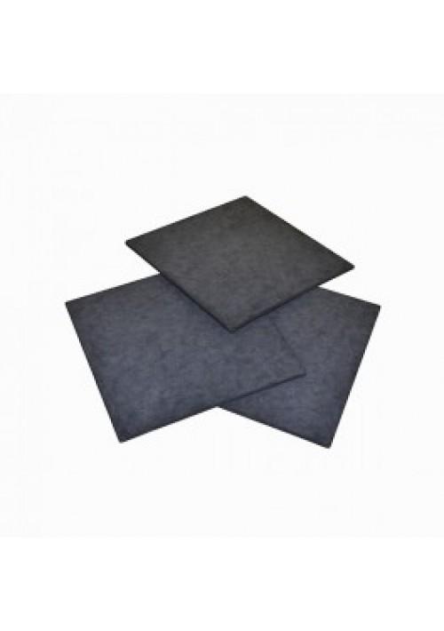 Plaque filtrante charbon Carré Mini Jet